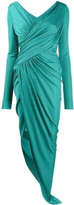 Alexandre Vauthier Asymmetric Wrap Dress