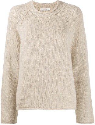 The Row Cashmere Long Sleeve Jumper