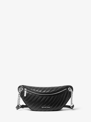 MICHAEL Michael Kors Peyton Large Quilted Belt Bag