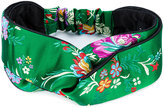 Gucci floral headband - women - Silk/Polyester - S