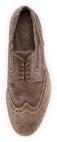 Vince Camuto Venety Washed Suede Loafer
