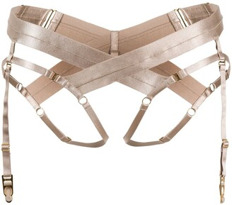 Bordelle Bondage harness briefs