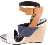Pierre Hardy Colorblock Wedge Sandals