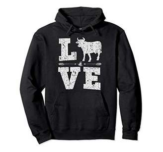 Cows Lover Owner Farm Women Girl Loves Cow Gift Christmas Pullover Hoodie