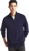 Gap Merino half-zip sweater