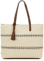 Cole Haan Pinch Tasseled Whip-Stitched Tote