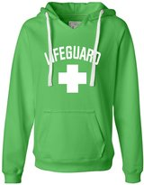 Go All Out Screenprinting Womens Lifeguard by Go All Out Deluxe Soft Hoodie