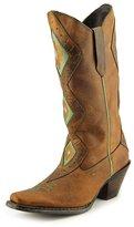 "Durango Women's Crush 12"" Tribal Light Tan/Mint boots 7.5 M"