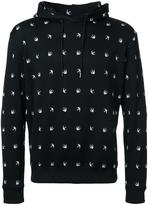 McQ by Alexander McQueen swallow drawstring hoodie