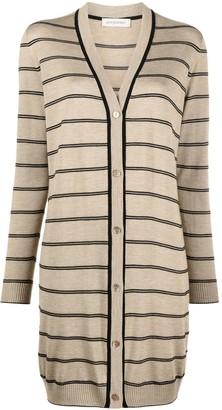 Gentry Portofino Striped Knit Cardigan