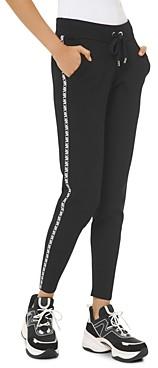 MICHAEL Michael Kors Logo-Letter Jogger Pants