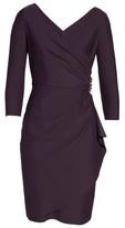 Alex Evenings Women's Embellished Ruched Sheath Dress