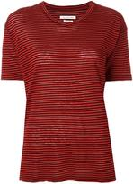 Etoile Isabel Marant striped T-shirt - women - Cotton/Linen/Flax - S