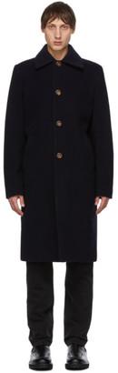 Séfr Navy Wool Ian Coat