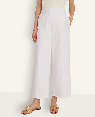 Ann Taylor The Petite Marina Pant with Novelty Trim