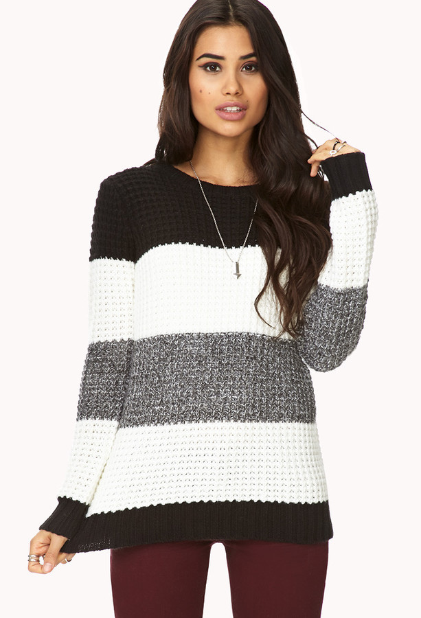 Forever 21 Menswear-Inspired Striped Sweater