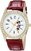 Disney Women's 'Minnie Mouse' Quartz Metal Casual Watch, Color: (Model: WDS000381)