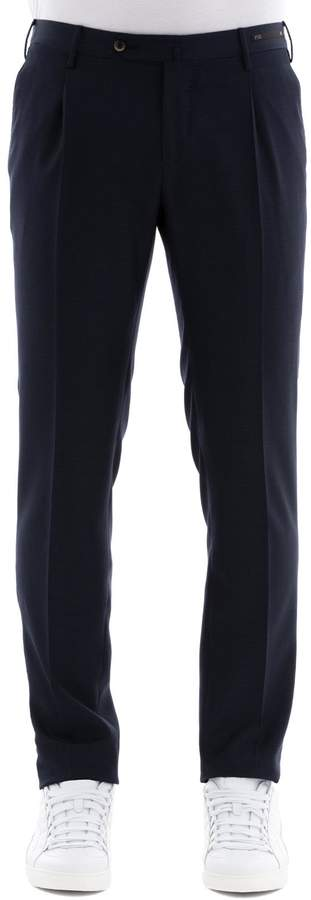 Pt01 Blue Wool Pants