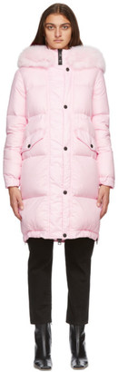 Mr & Mrs Italy Pink Down Parka