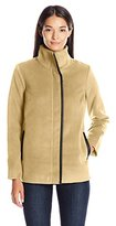 Rafaella Women's Misses Plush Mock Neck Jacket