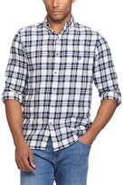 Chaps Big & Tall Regular-Fit Plaid Flannel Performance Button-Down Shirt