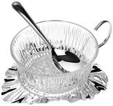 Corbell Silver Company Inc. Silver-Plated Leaf Jam Dish
