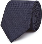 Reiss Ida - Silk Houndstooth Tie in Black, Mens