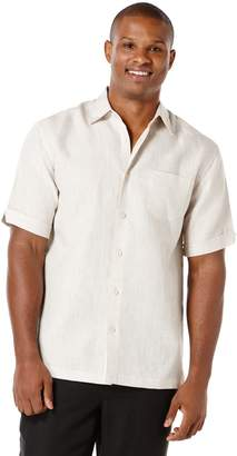 Cubavera 100% Linen Short Sleeve 1 Pocket Shirt
