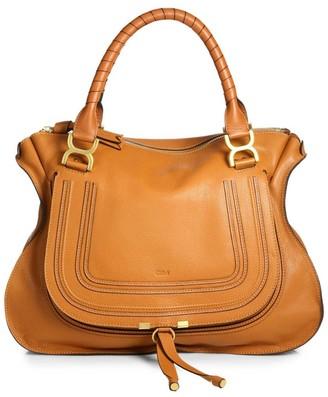 Chloé Marcie Large Leather Satchel