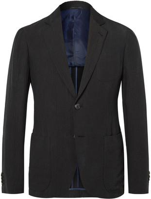 Giorgio Armani Unstructured Matelasse Suit Jacket