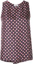 Alberto Biani patterned sleeveless blouse
