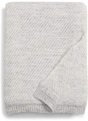 Jenni Kayne Loom Alpaca Blend Throw Blanket
