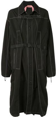 No.21 Contrast Stitch Oversize Coat