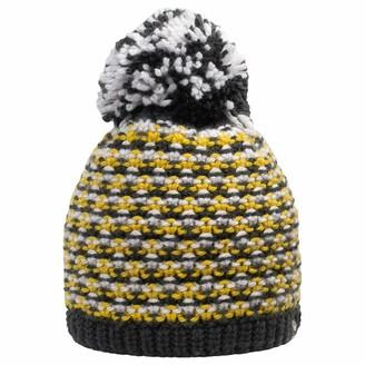 Giesswein Beanie Turnerkamp Yellow ONE - Cuddly Knitted hat for Children Merino Wool Fluffy Bobble Made of Wool Warm Fleece Lining Soft Beanie for Boys