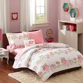 Mi-Zone Kids Wise Wendy Complete Bed and Sheet Set, Full, Pink