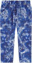 Junior Gaultier Flowing fancy print pants