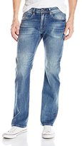 Buffalo David Bitton Men's King Slim Boot Cut Denim Jean