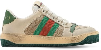 Gucci Web & Gg Canvas Sneakers