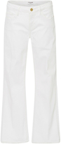 Frame Le Cropped Mid Rise Mini Bootcut Jeans