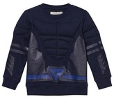 Stella McCartney Navy Padded Superhero Rowbow Sweater