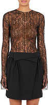 Nina Ricci Women's Sheer Lace Bodysuit