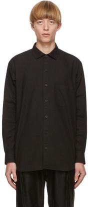 Blue Blue Japan Black Cotton Vintage Shirt