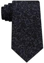 Sean John Men's Floral Solid Tie