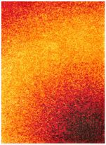 Loloi Rugs Barcelona 7-Foot 7-Inch x 10-Foot 5-Inch Shag Rug in Sunset