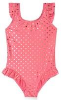 Hula Star Girl's 'Milkshake' One-Piece Swimsuit