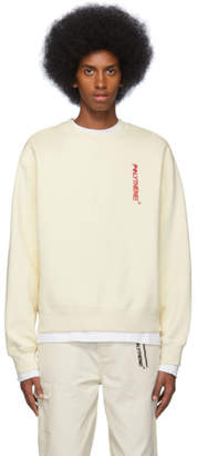 Off-White Polythene* Optics Fleece Sweatshirt