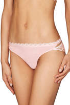 Pleasure State NEW 'Adeline Fitzgerald' Mini Brief Pale Pink