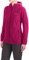 Columbia Fuller Ridge Hooded Fleece Jacket - Full Zip (For Women)