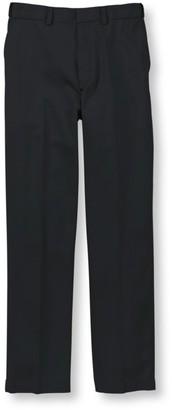 L.L. Bean L.L.Bean Men's Wrinkle-Free Dress Chinos, Natural Fit Hidden Comfort Plain Front