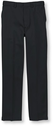 L.L. Bean Men's Wrinkle-Free Dress Chinos, Natural Fit Hidden Comfort Plain Front